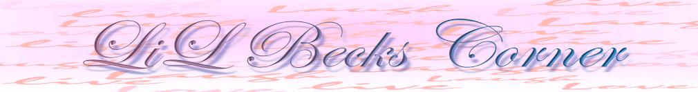 LiL' Becks Corner