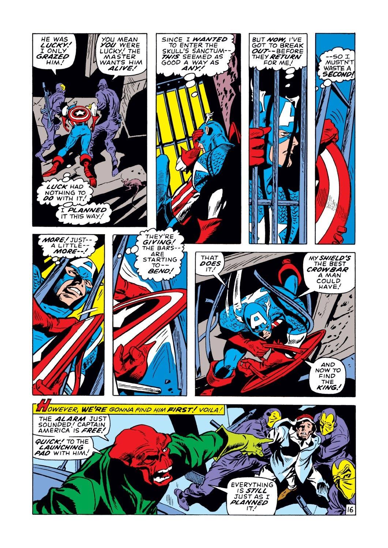 Captain America (1968) Issue #129 #43 - English 16