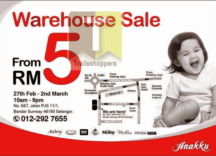 Anakku Warehouse Sale Bandar Sunway Selangor