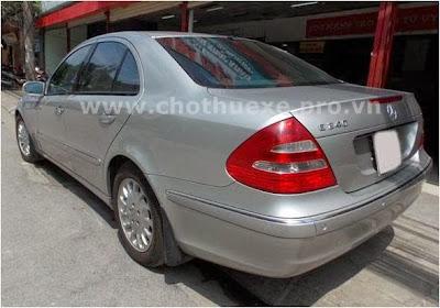 Cho thuê xe Mercedes VIP 240 hạng sang 2
