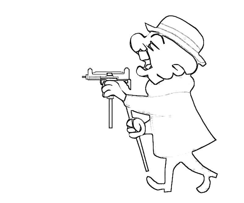 Mr Magoo Weapon Lean Printing