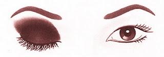 aplicar sombra de olhos em olhos orientais