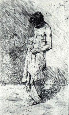 Home matant els polls (Marià Fortuny i de Madrazo)