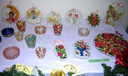 vetri vari dipinti