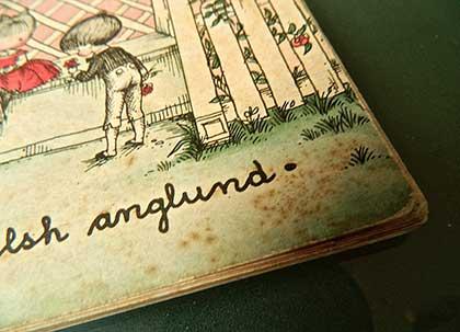 Joan Walsh Anglund - Amar é um jeito próprio de sentir (1960) - detalhe capa