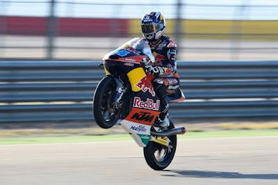 Hasil Lengkap Race Moto3 Aragon, Spanyol 2015