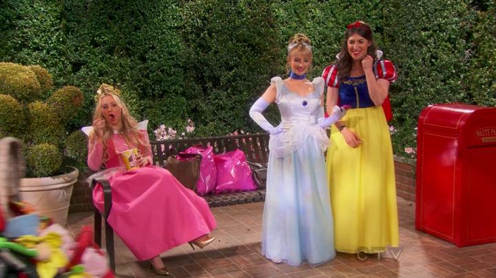 Les parcs Disney dans les séries TV et les films Big+Bang+Disney+Princesses