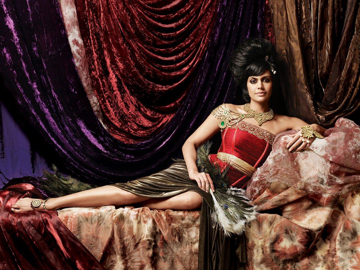 mandira bedi gaja jewellery ad shoot actress pics