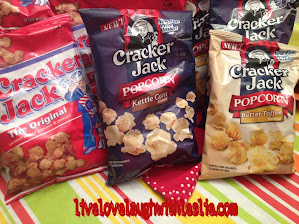♥ #CrackerJack Celebrates 120 Years With Two New Flavors., More Peanuts & More! {GIVEAWAY }