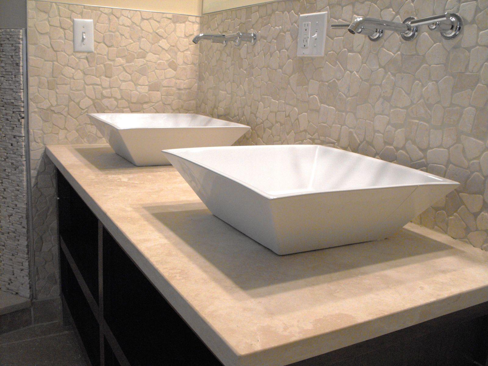 Bachas para ba o fotos - Lavabos de marmol para bano ...