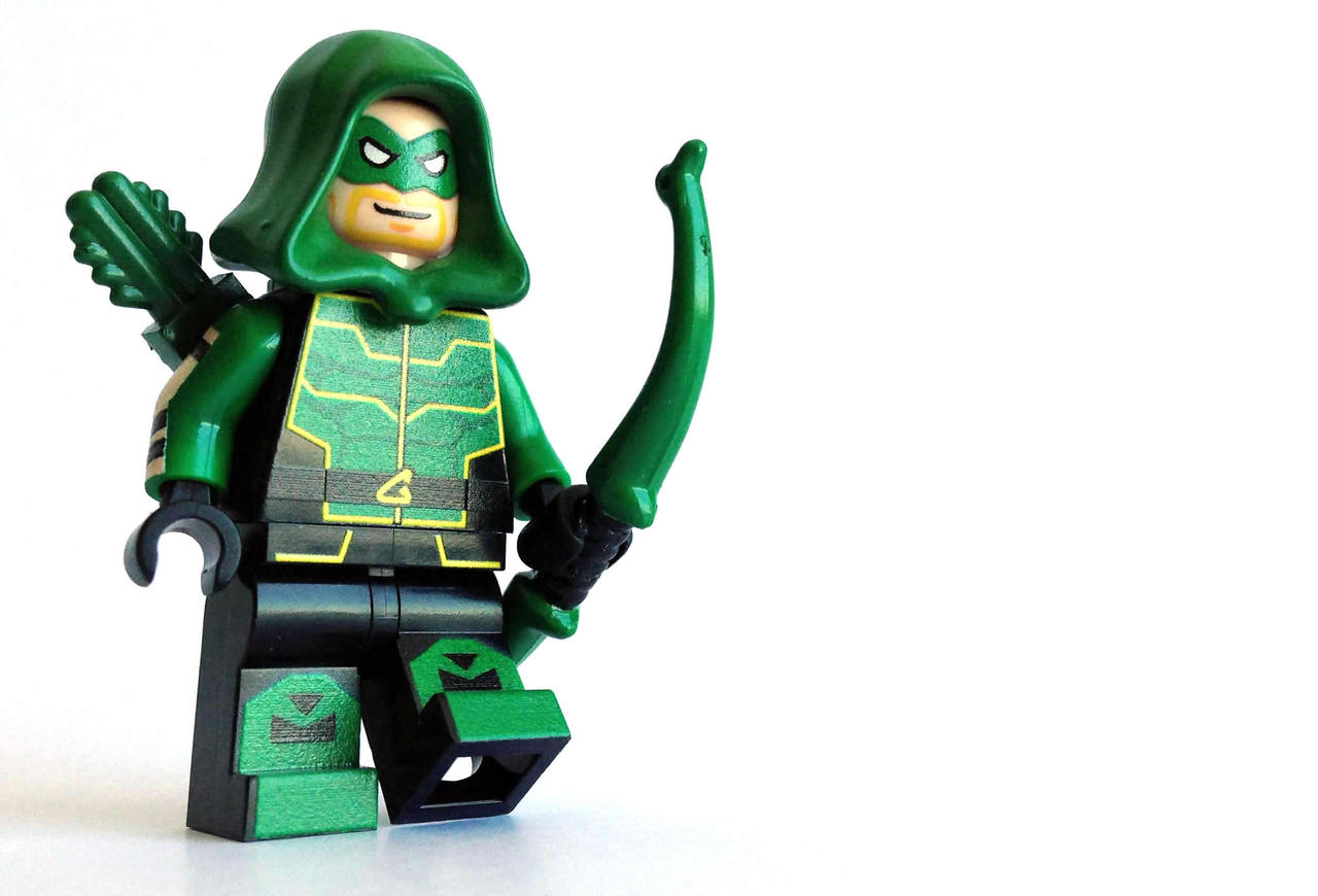 the gallery for gt lego green arrow comic con