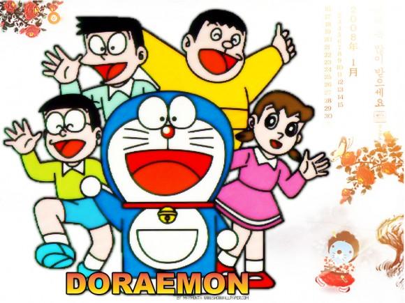 10 Gambar Kartun Terpopuler Animasi Doraemon Minion