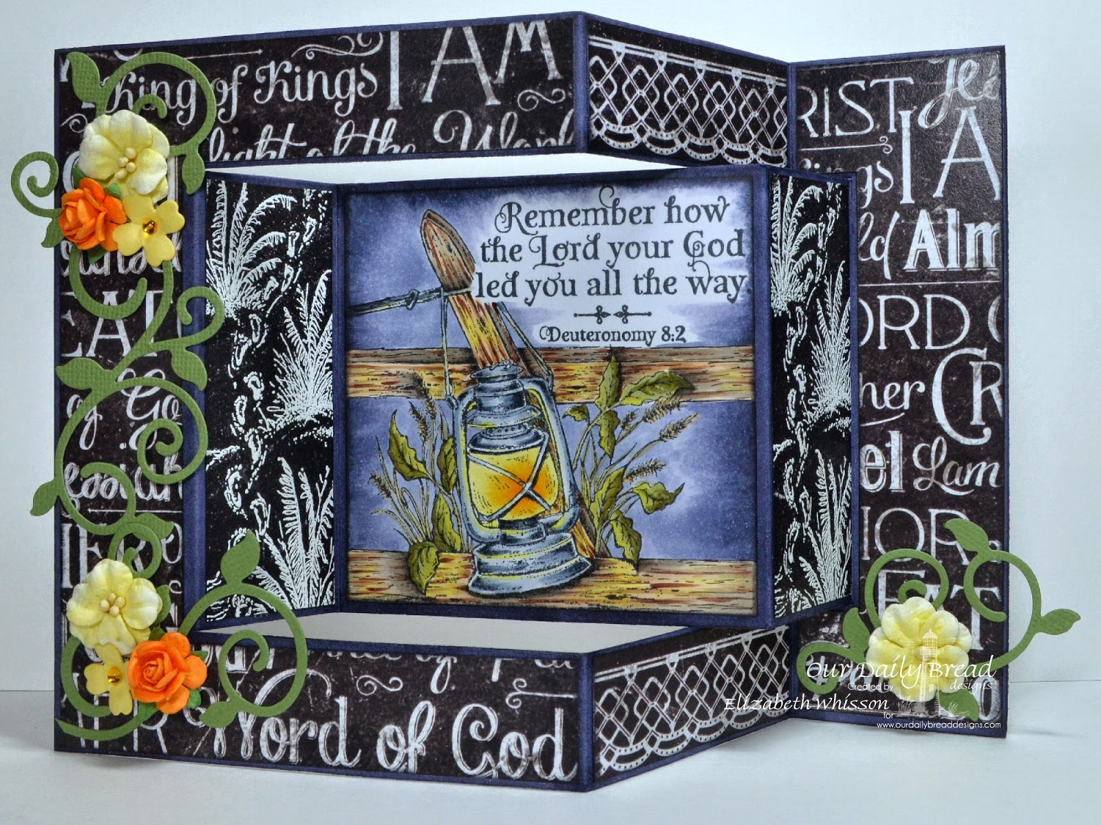 Our Daily Bread Designs, Scripture Collection 3, Elegant Ovals Dies, Fancy Foliage Dies, Beautiful Borders Dies, Asters and Leaves Dies, Birds & Nest Dies, Heart and soul Paper, Designed by Paula Bigelow