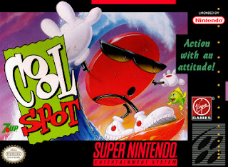 Cool Spot snes cover art
