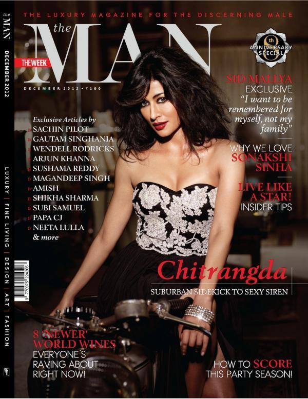 Chitrangada Singh Magazine December 2012