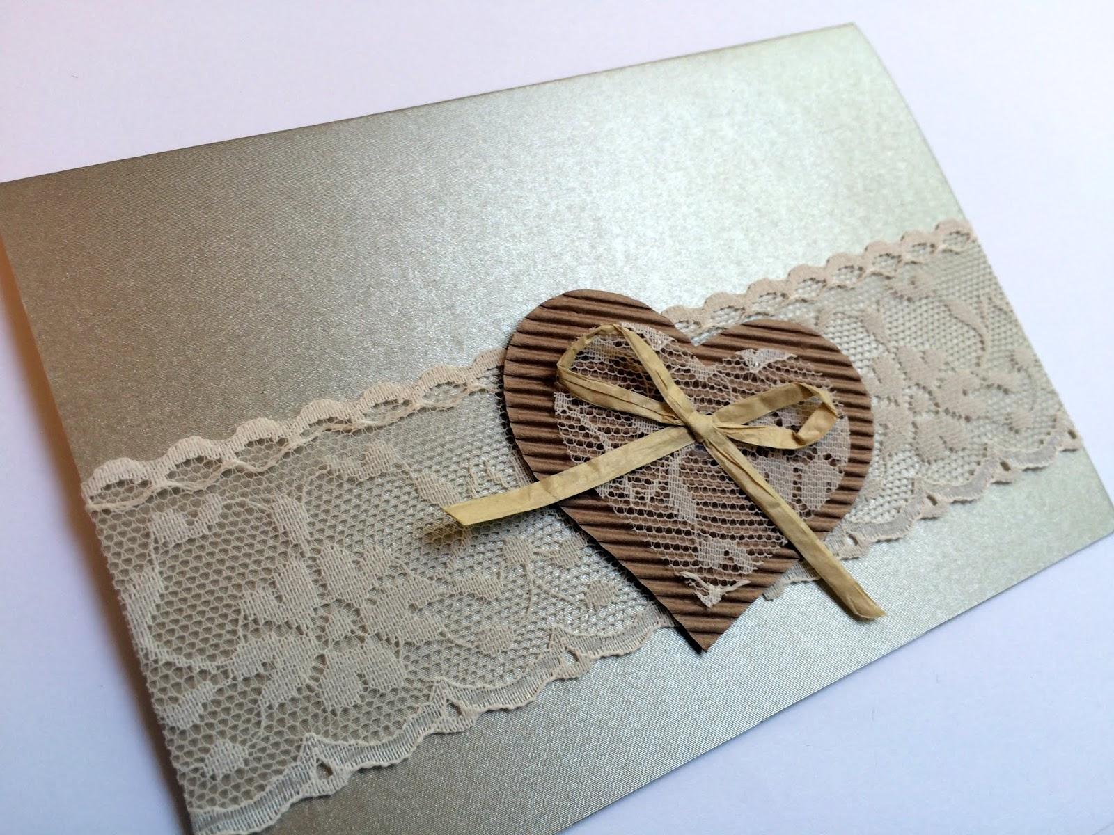 Famoso Lumaca Matta - Handmade with love: Inviti matrimonio rustico- parte 2 AR96