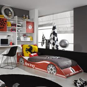 Secret de Chambre   Chambre enfant   Ado: Le lit voiture