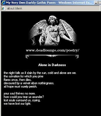 Gothic Poem