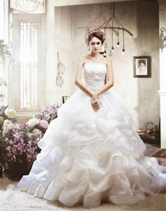 Koleksi Gaun Dress Pengantin Pesta