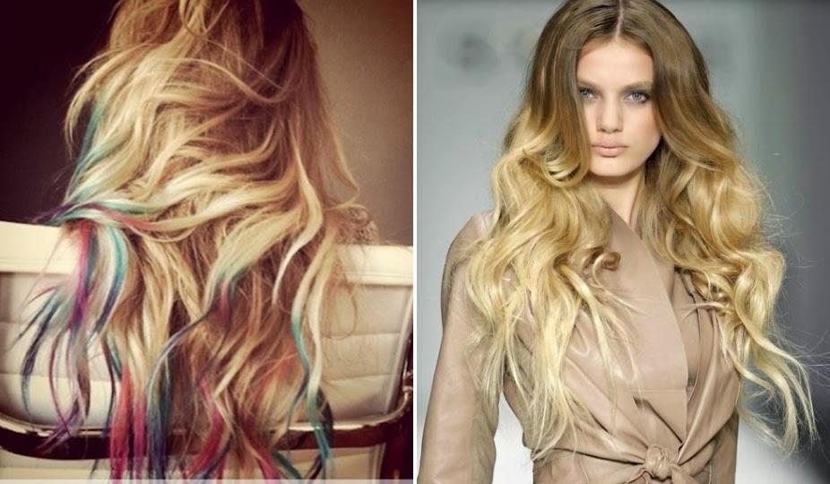 colorare i capelli biondi