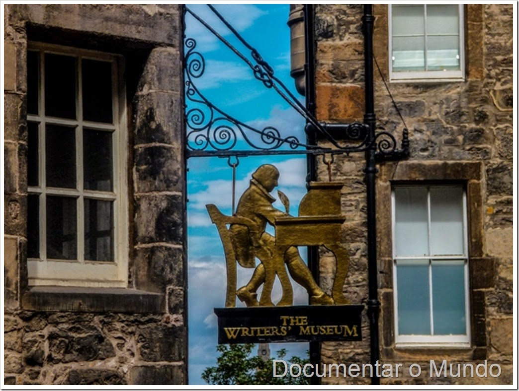 The Writers' Museum; Lady Stair's Close; Edimburgo