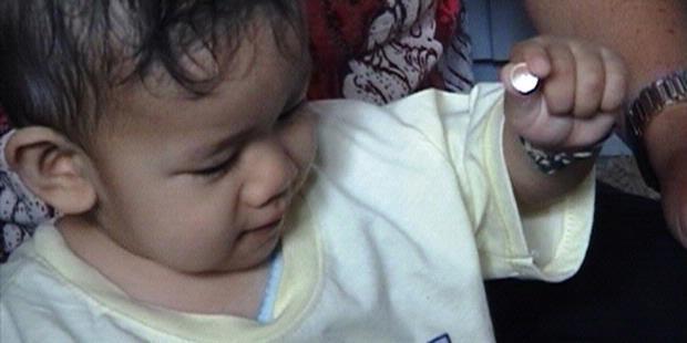 Air Liur Bayi Asal Jawa Timur, Berubah Jadi Kristal