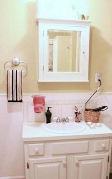 Bathroom Medicine Cabinets  Lights on Housecapades  Vintage Suitcase Becomes Medicine Cabinet