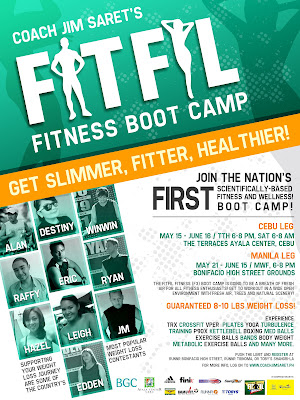 FitFil Fitness Boot Camp in Cebu