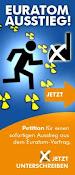 Petition: Ausstieg aus dem EURATOM-Vertrag
