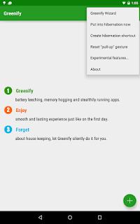 cara menggunakan greenify pro apk