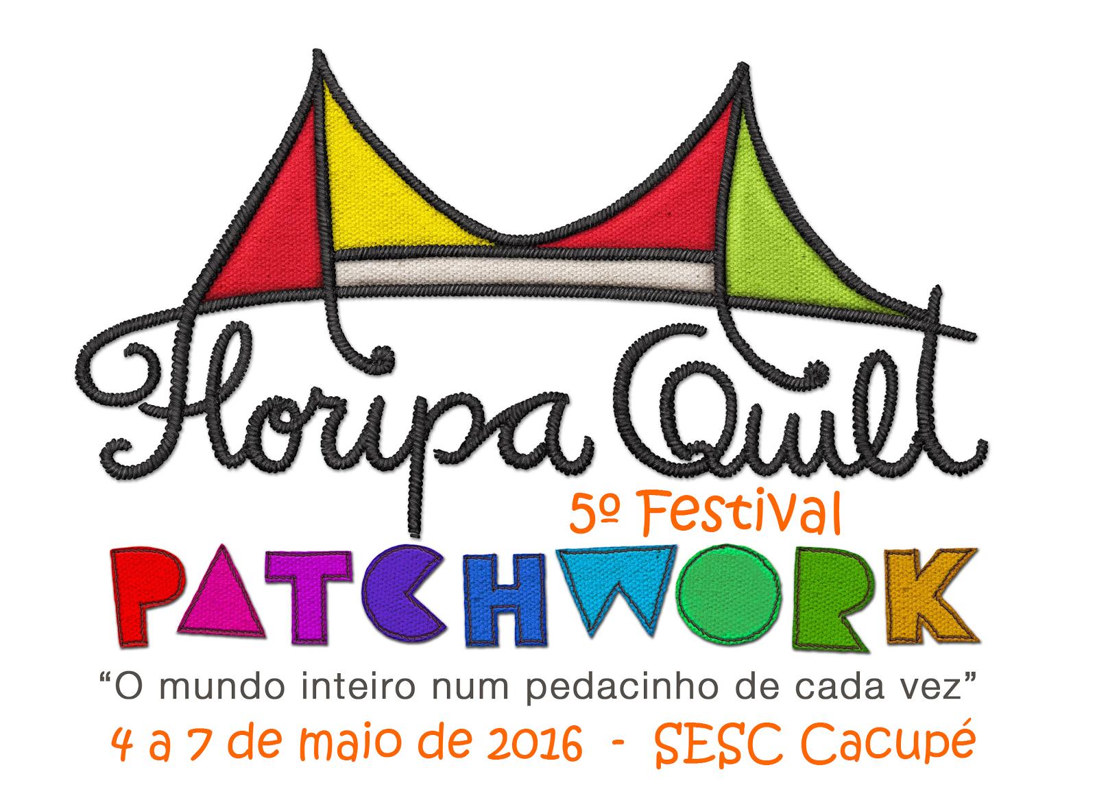 O Ateliê Corarte realizará a 5ª edição do Festival de Patchwork