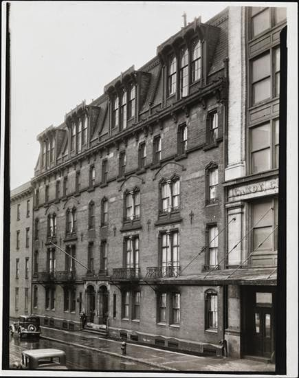 New york history geschichte time and again si for Stuyvesant apartments