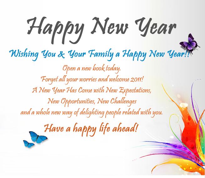 Free Happy New Year Wallpapers: New Year Wishes, Free Happy New Year ...
