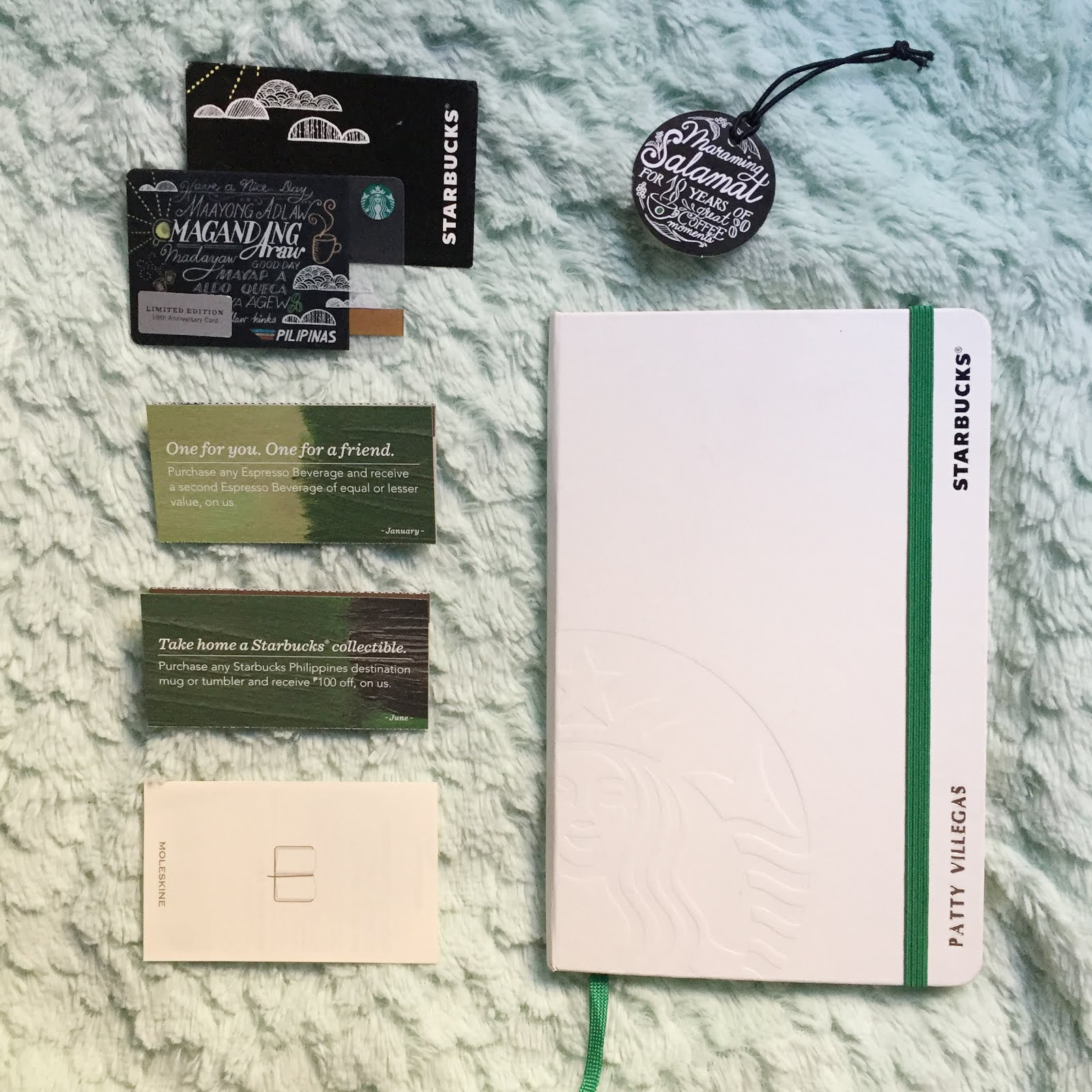 The Lifestyle Wanderer: What's Inside the Starbucks By Moleskine ...