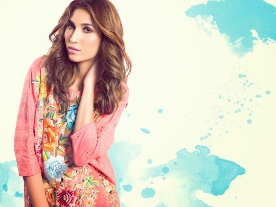 Sanam Chaudhri Spring Summer Lawn Collection