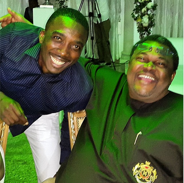 No better endorsement: Comedian, Bovi lounges with billionaire, Mike Adenuga (See Photos)