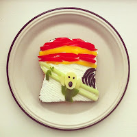 Sandwich  El grito Munch
