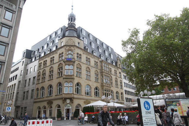 More picture of the downtown in Cologne, Germany