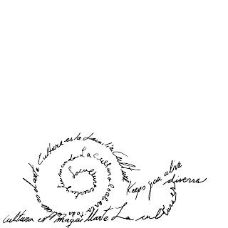 slow. caracol, lentitud. caligrama