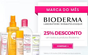 Marca do Mês | JUNHO| BIODERMA -25% em TODOS os produtos
