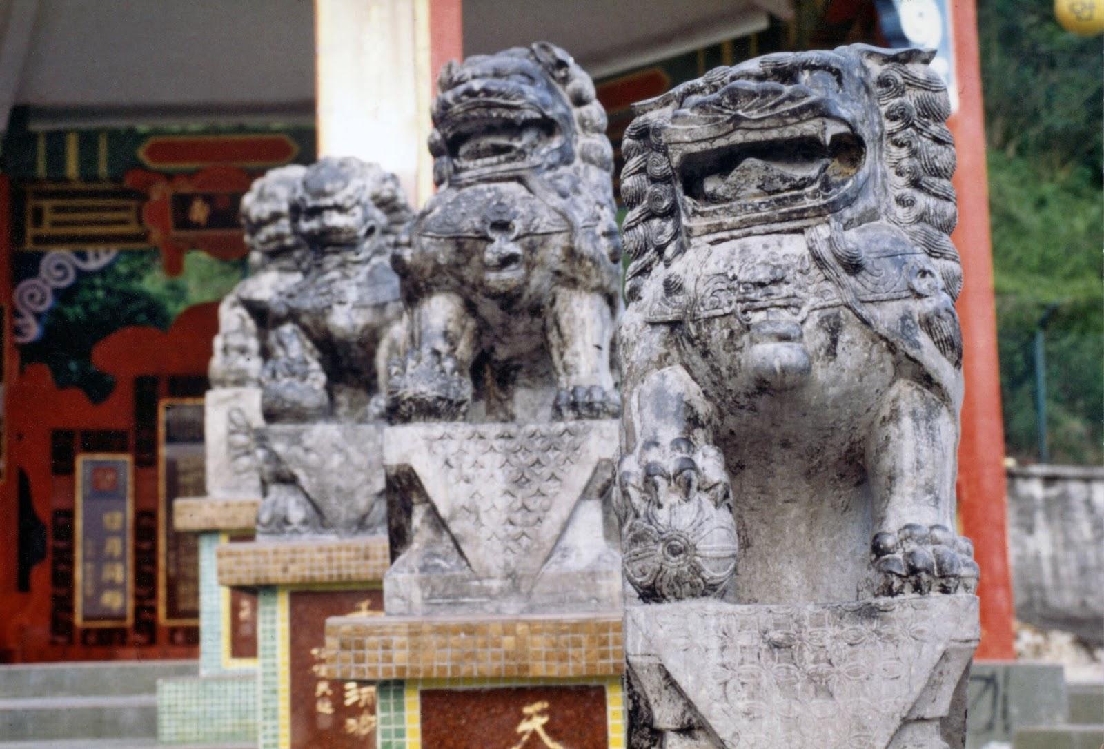 香港,石像〈著作権フリー無料画像〉Free Stock Photos