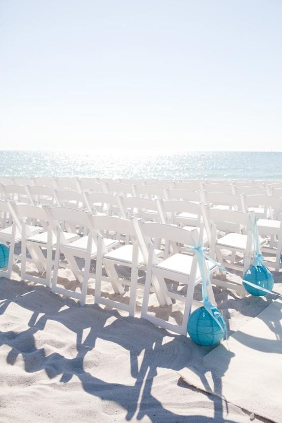 Beach Wedding Aisle Decor Images - Wedding Decoration Ideas