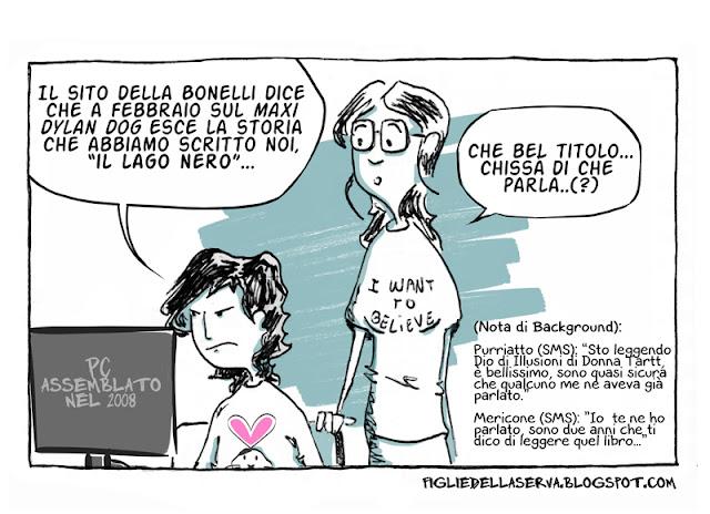 Figlie della Serva - Rita Porretto, Dylan Dog e i suoi problemi di memoria.