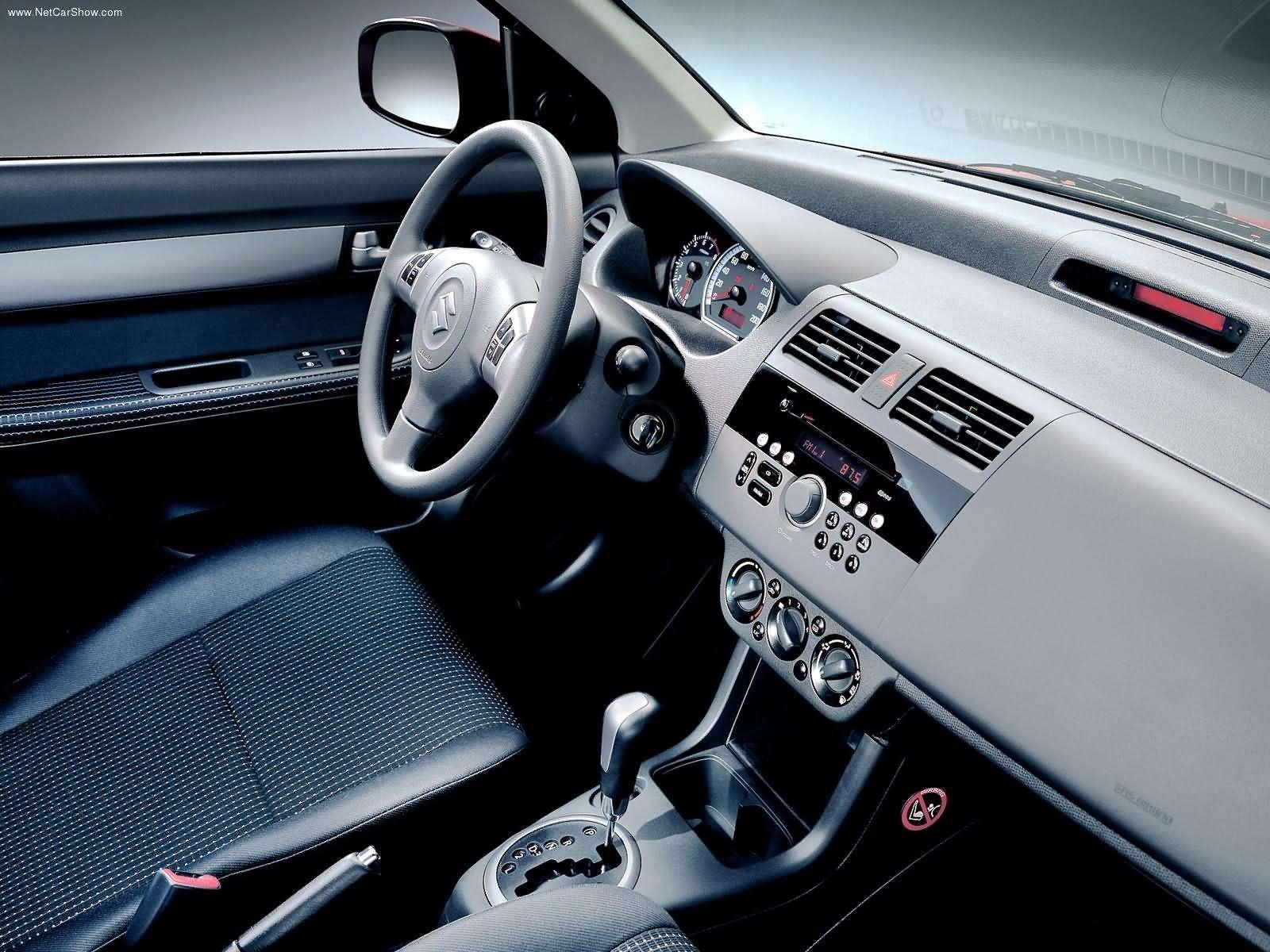 Hình ảnh xe ô tô Suzuki Swift VVT 2005 & nội ngoại thất