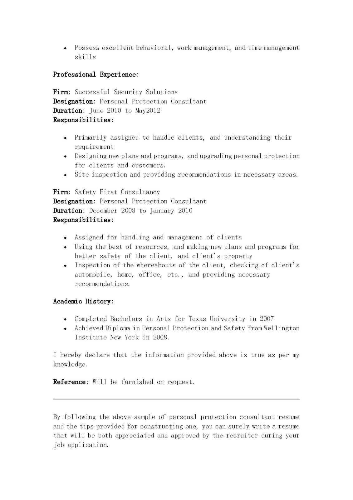 Famous Psw Resume Samples Illustration - Entry Level Resume ...