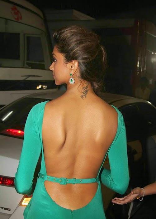 Deepika Padukone Backless