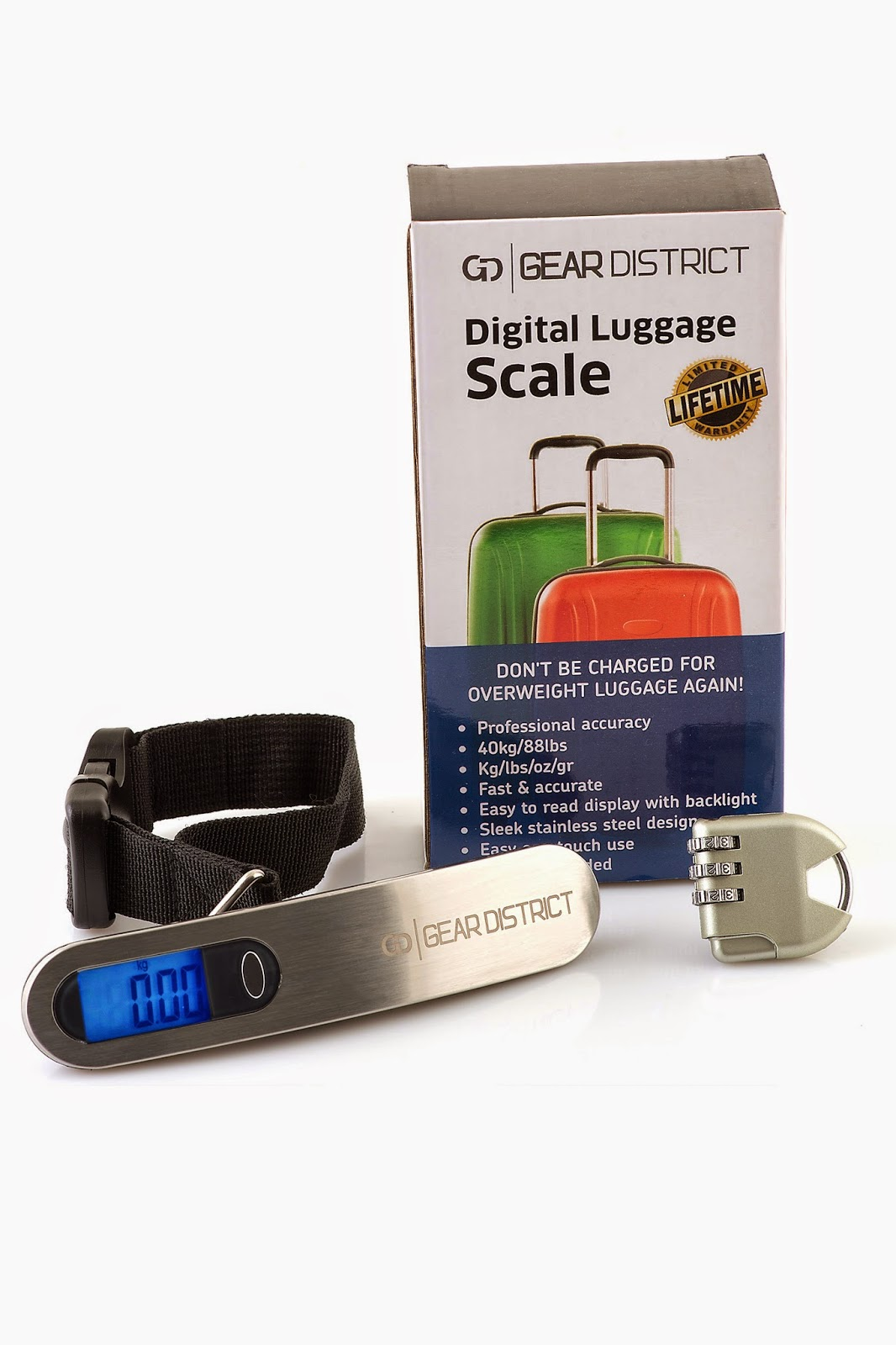 Digital Luggage Scale Bundle