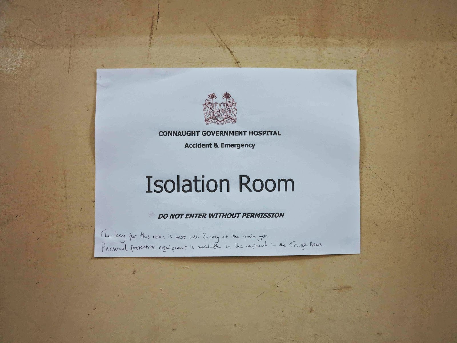 Isolation Room In Hospital Meaning
