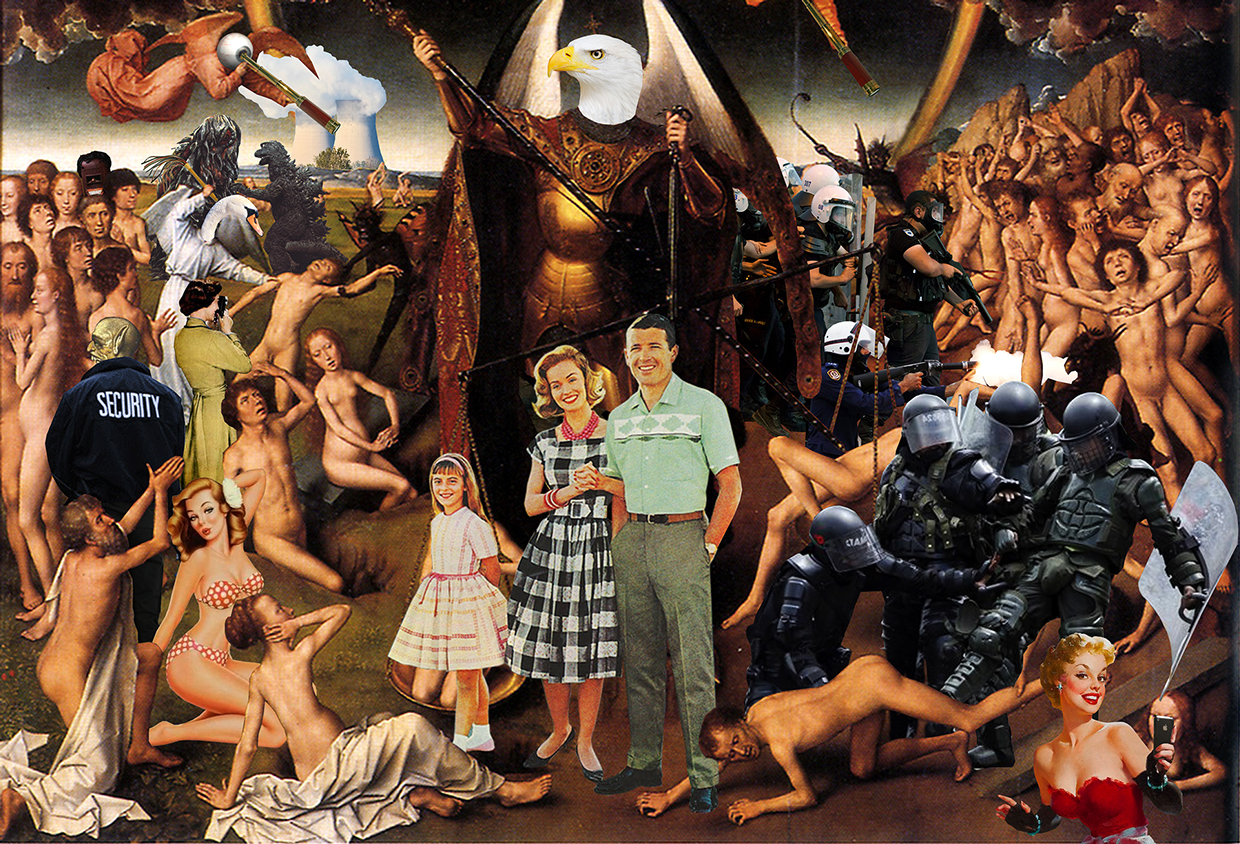 ©STAB - The Last Judgement. Collage