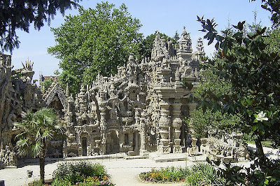 Ferdinand Cheval Palace Ideal Palace Châteauneuf-de-Galaure Francia France